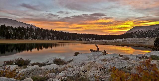 Sunrise at SouthForkLake
