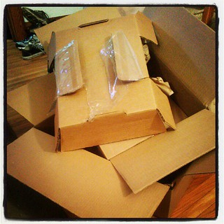 This much packaging for a laptop. I was mad, but then I could have 2 windows open at once and I was happy again.