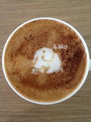 Today's latte, MacLHA.