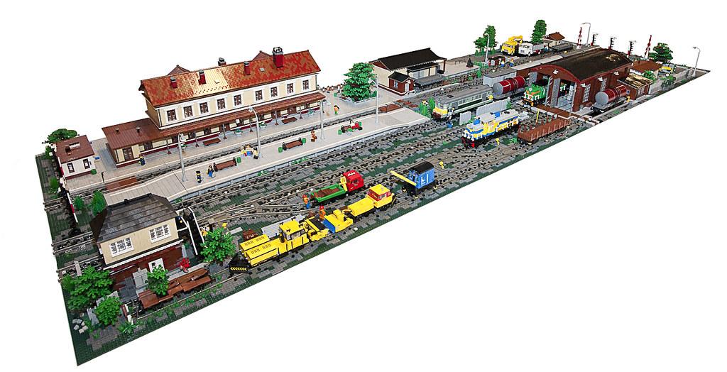 Lego Train Set Lego Train Mocs Moc Maciej Read More Lego Train Moc