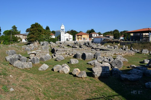 Temple of Alean Athena, Tegea (Arcadia), September 2011
