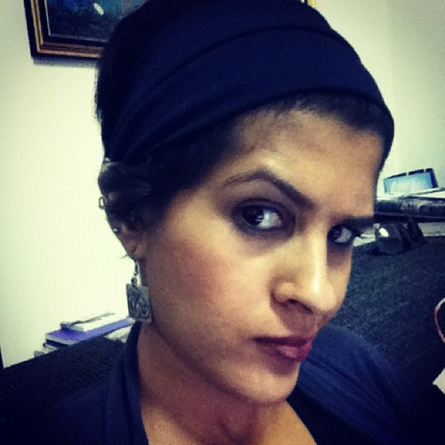 I can haz raised eyebrow. And short hair! | #hair #eyebrows #selfportrait #self #instagramography #ipodtouch #shorthair