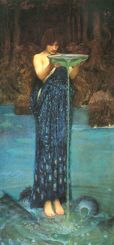 circe invidiosa john william waterhouse