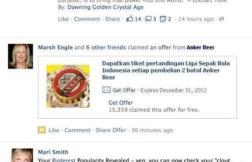 facebook offers indonesia