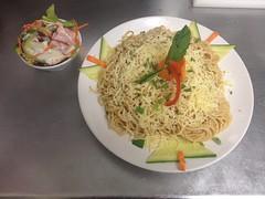 Le Grenier de Notre Dame - Les spaghettis à l'ail et au fromage