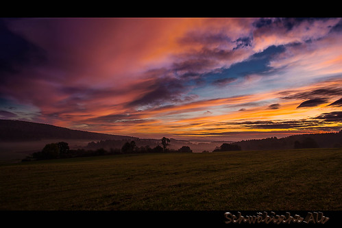 sunrise himmel sonnenaufgang anhausen indelhausen hayingen