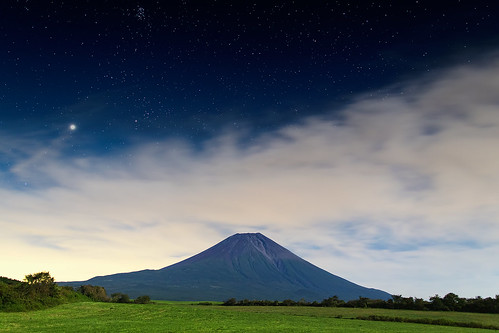 Midnight Mt.Fuji