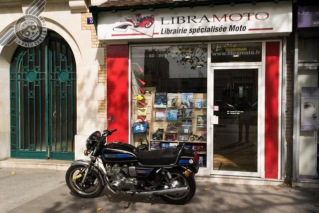 La façade de Libramoto.