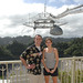 Professor Cannon and Clara Thomann '13 at the Arecibo Observatory in Puerto Rico (January 2012).