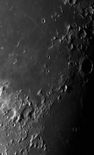 Cauchy, Messier A and Taruntius - 041012 by Mick Hyde