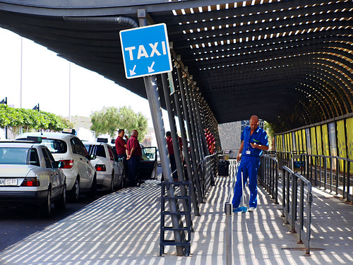 Taxi Rank, Tenerife South Airport