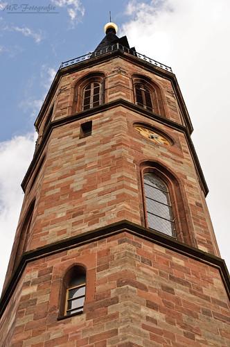 View Upward church @Gehofen