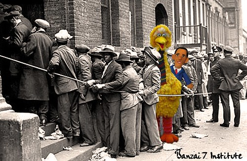 MUPPET BREADLINE by Colonel Flick