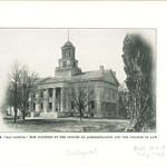 Old Capitol now occupied by College of Law and offices of administrators, The University of Iowa, July 1905