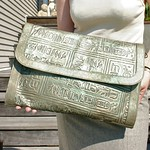 VST heiroglyph clutch from tag sale in Dix Hills
