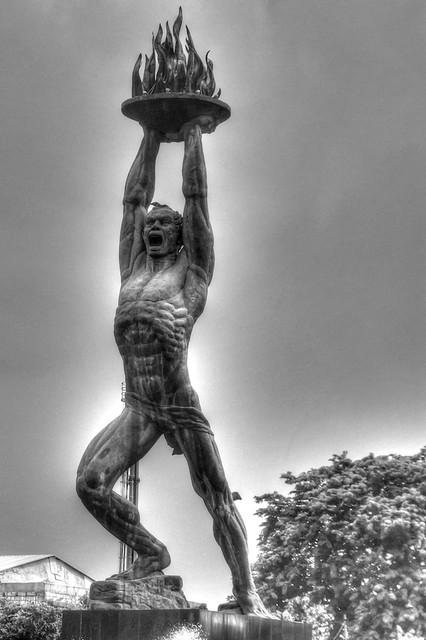Patung Pemuda Membangun, Jakarta, Indonesia
