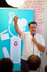 Tiberiu Cazacioc, talking about slow food