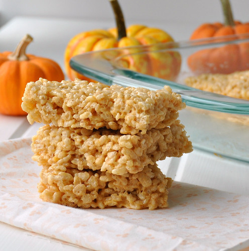 Pumpkin Spice Rice Krispie Treats – The Way to His Heart