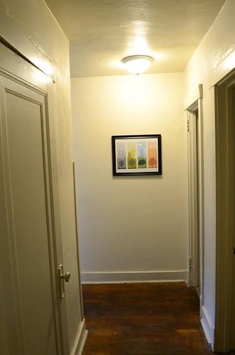 Hallway towards kitchen