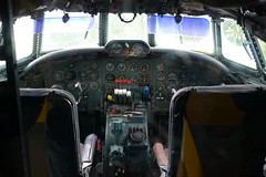 Cockpit: Lockheed L-1049G