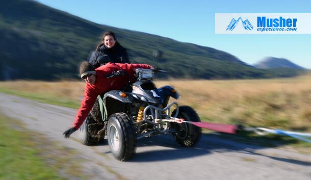 Eric Weidmann en quad