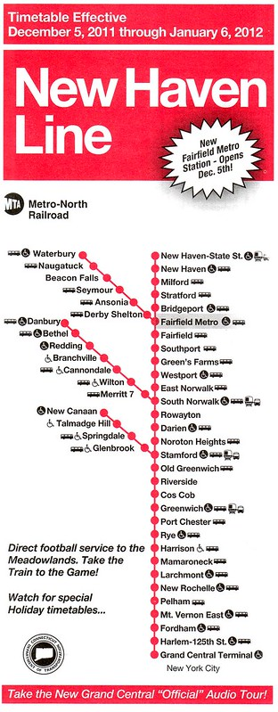 Metro-North New Haven Line 2011 Cover