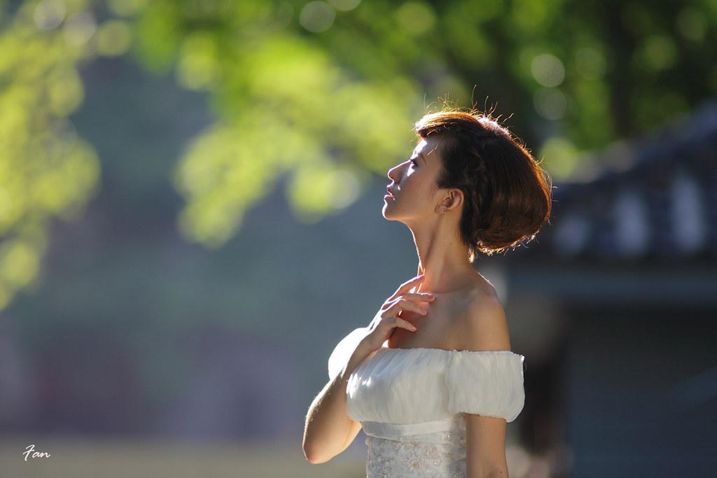 凱倫 精緻逆光婚紗