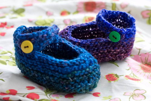 baby booties: Maryjanes
