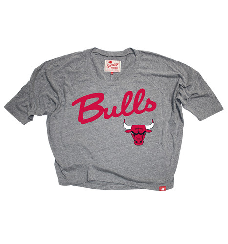 Chicago Bulls Marshall Sweatshirt by Sportiqe Apparel