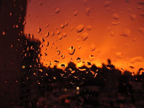 sunset santafe macro argentina rain atardecer drops lluvia bokeh gotas rosario gotitas olétusfotos