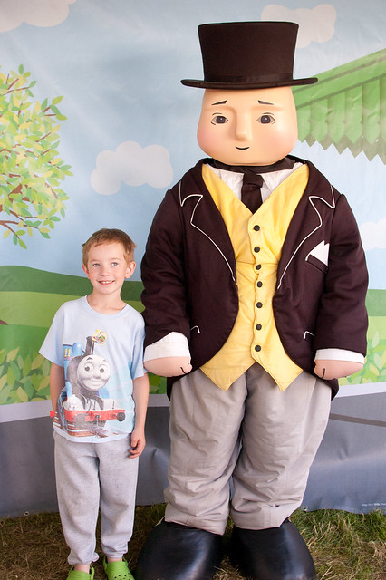 Anthony and Sir Topham Hatt