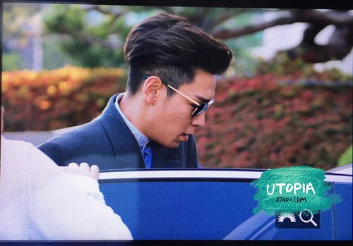 BIGBANG KBS Happy Together Leaving 2015-05-16 03