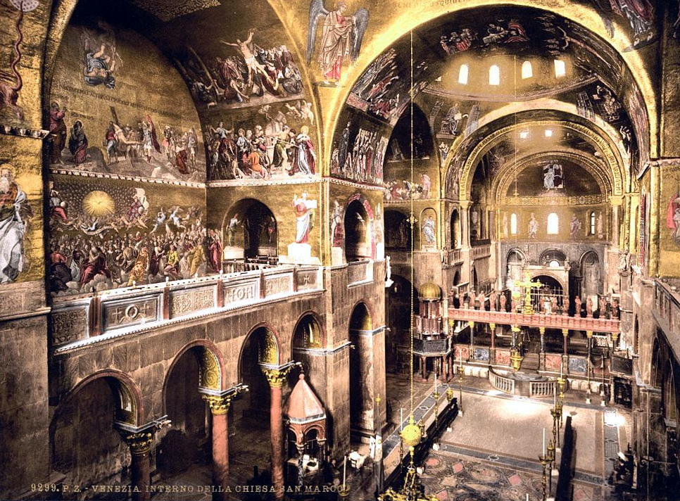 Interior of St. Mark's, Venice, Italy