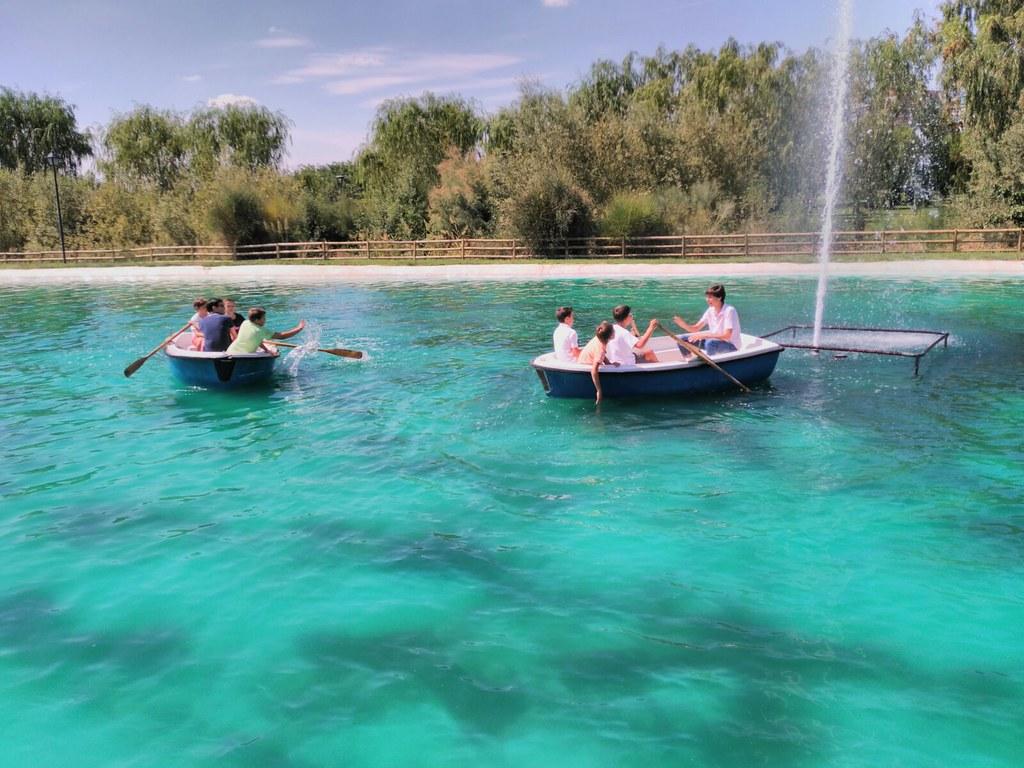 Barcas Parque Europa