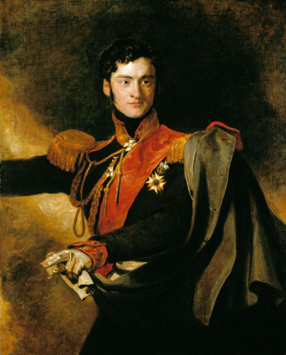 Alexander Ivanovitch, Prince of Chernichev (1786-1857) by Sir Thomas Lawrence - 1818