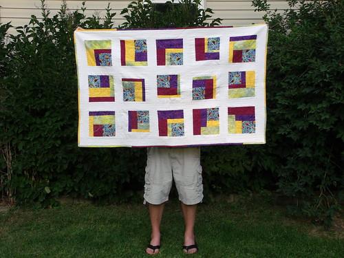 Maren's 1st quilt front