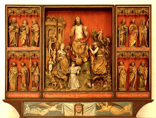 København, Sjælland, Nationalmuseet, altar from Birket (Lolland) by groenling