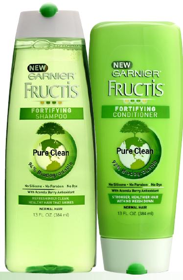 Garnier Pure Clean Shampoo Conditioner review