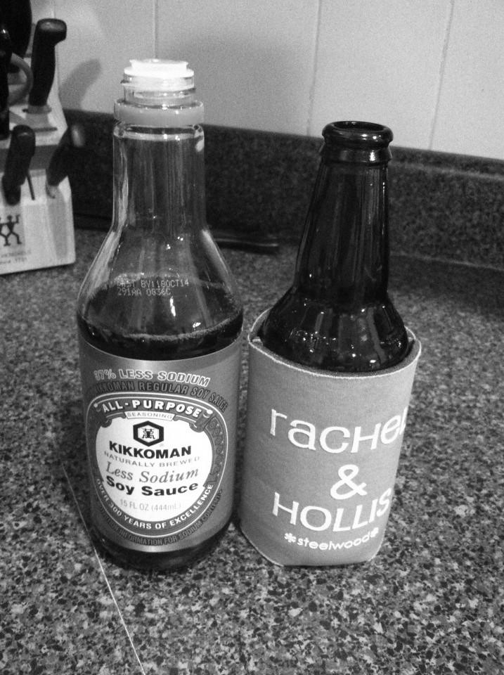 Beer vs soy sauce