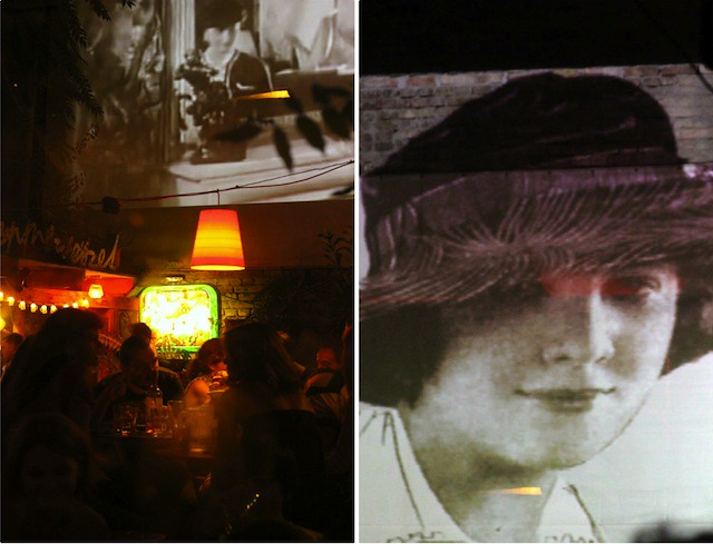 Szimpla Kert archive projection