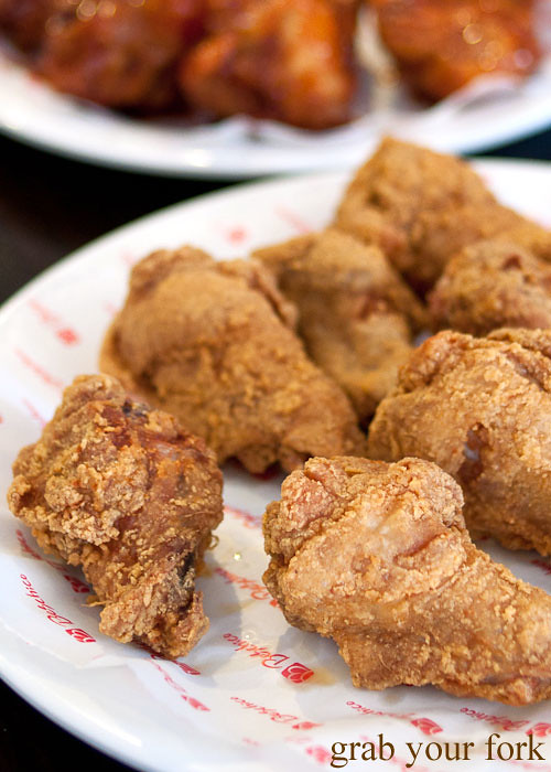 korean fried chicken at beschico epping