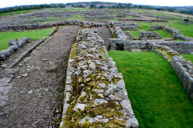 Corbridge Roman Site, Hadrian's Wall