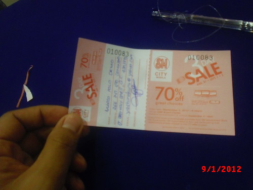 SM City Manila 3 Day Sale KNT 27