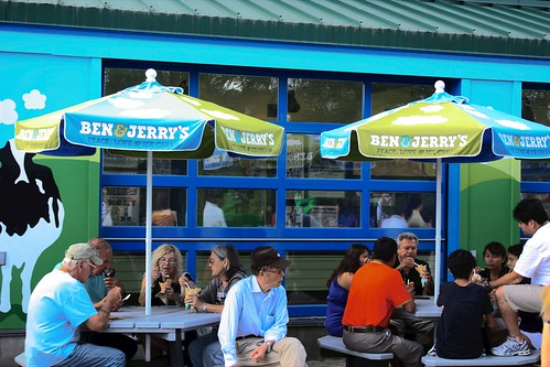 Waterbury, Vermont - Ben&Jerry's Factory