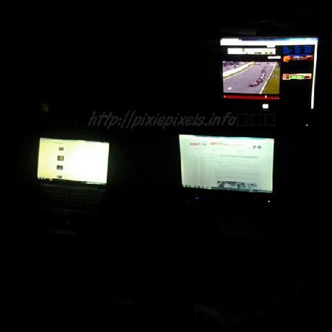 Watching Belgium Formula1