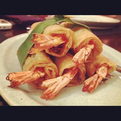 Dinner at Mango Tree