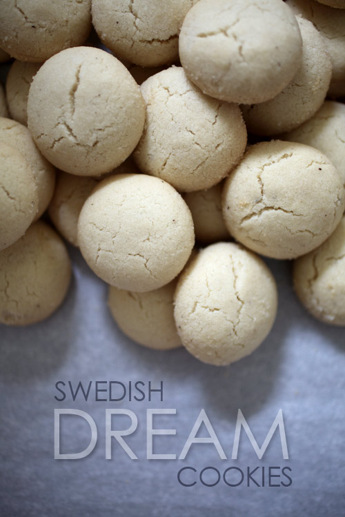 Swedish Dream Cookies