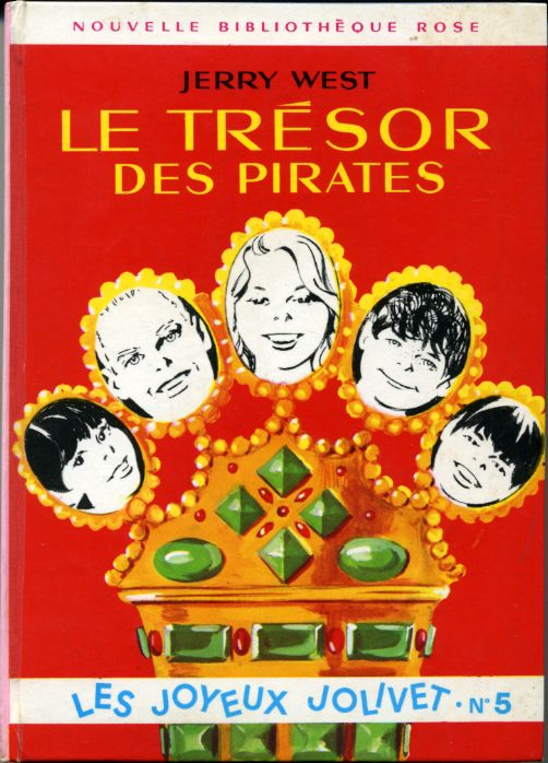Le trésor des pirates, by Jerry WEST