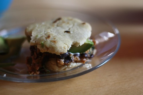Black Bean Arepas