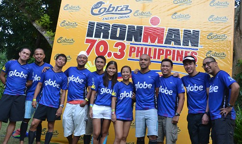 Globe triathletes conquer 4th Ironman 70.3 Philippines